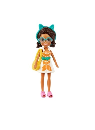 Polly Pocket Seyahatte Oyun Seti GFT92-GFT93 Renkli